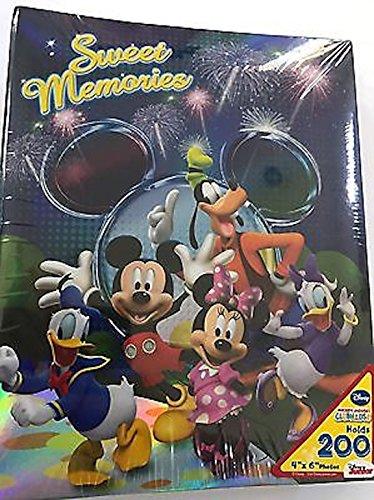 Unbekannt Disney Mickey Maus Fireworks Sweet Memories 200Bild Foto Album 4x 6 (Maus Mickey Von Fotos)