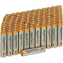 AmazonBasics - Paquete de 100 pilas alcalinas AAA