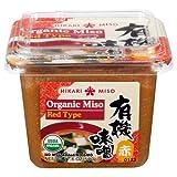 Hikari ORGANIC Red Miso Paste - 1 tub, 17.6 oz by Hikari Miso