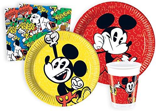 Ciao?Mickey Mouse Kit Party Tisch, mehrfarbig, L (24Personen), y4611 Preisvergleich