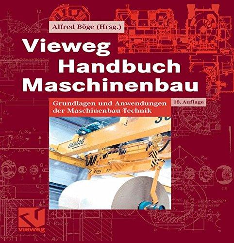 Vieweg Handbuch Maschinenbau. Grundlagen und Anwendungen der Maschinenbau-Technik. 4,50 Versandkosten