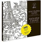 Poster géant à colorier PARIS