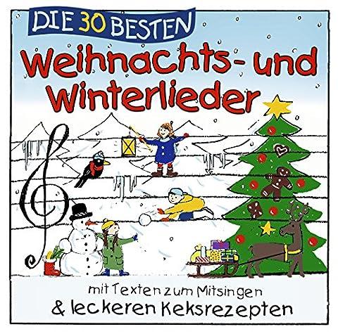 Die 30 besten Weihnachts- und Winterlieder mit Texten zum