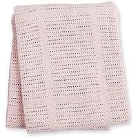 Lulujo 121–010–002–Manta de punto de algodón 100x 80cm