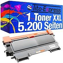PlatinumSerie® 1x cartucho de tóner compatible con Brother TN-2120 Mega XL Black DCP-7030 DCP-7032 DCP-7040 DCP-7045 N HL-2140 HL-2150 N HL-2150 NR HL-2170 N HL-2170 Series HL-2170 W HL-2170 WR