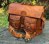 Best maletín de cuero - handmadecraft Unisex de piel auténtica bolso bandolera de Review