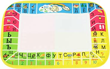 TOYMYTOY Aqua Doodle Water Drawing Mat Board and Magic Pen Canvas Educational Toys