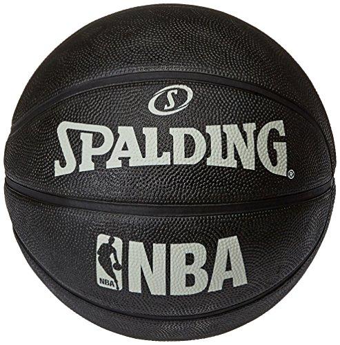 Spalding NBA Alley Oop - Pelota de baloncesto, color negro, talla 7