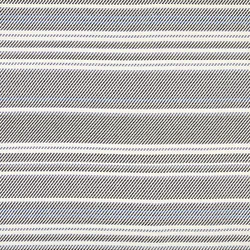 Fabulous Fabrics Strickstoff Jacquard Streifen - wollweiss/schwarz - Meterware ab 0,5m - zum Nähen von Tops, Kleider und Leggings