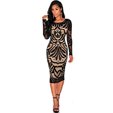 Cocktail bodycon party dresses