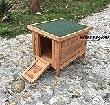 Wildlife Königreich 1302Holz Kaninchen Meerschweinchen Schildkröte Hide Stall Huhn Pet Ente House Holz Shelter