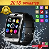 Bluetooth Smartwatch con Camera,Smart Watch Phone Touchscreen,Smart Orologio,Impermeabile Orologio Intelligente con SIM Card Fessura per Android Samsung Huawei ios iphone X 8 7 6 6s 5 Uomo Men Donna