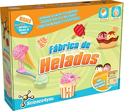 Science4you-Fábrica de Helados, Juguete Educativo y científico (488318