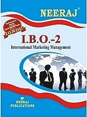 IGNOU IBO-2 International Marketing Management (Including Solved Question Papers) (Paperback, English, Expert Panel of Neeraj Publication) english,MCOM IGNOU