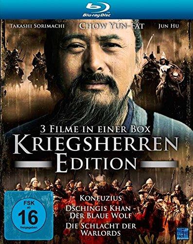 Bild von Kriegsherren Edition (Konfuzius, Dschingis Khan, Die Schlacht der Warlords) [3 Blu-rays]