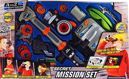 Secret Mission Set - EXTRA LARGE 6 Piece Spy Toy Kit