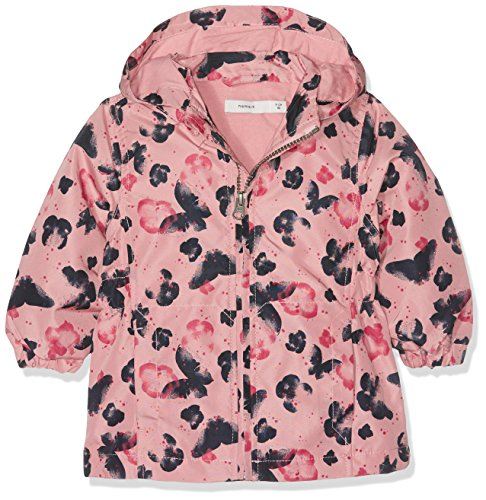 NAME IT Mädchen NITMELLO JACKET BUTTERFLY ROSE TAN MZ Jacke,,per pack Mehrfarbig (Rose Tan Rose Tan),98 (Jacke Tan Kinder)