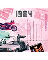 1984 Birthday Gifts - 1984 CD and 1984 Greeting Card