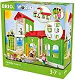 BRIO World 33941 - Village Familienhaus, bunt