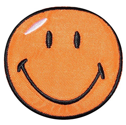 xl-bugelbild-smiley-orange-125-cm-125-cm-aufnaher-gewebter-flicken-applikation-gesichter-smile-emoti