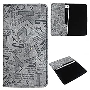 DooDa PU Leather Case Cover For Intex Aqua Y2 Plus
