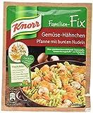 Knorr Fix Gemüse-Hähnchen Pfanne mit bunten Nudeln 4 Portionen