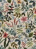 MIRABLAU DESIGN Stoffverkauf Baumwolle Canvas Blumen rosa