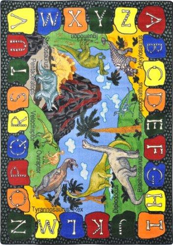 Joy Educational Wir Dig Dinosaurier Kinder Teppich Teppich Größe: 7'20,3cm X 10' 22,9cm