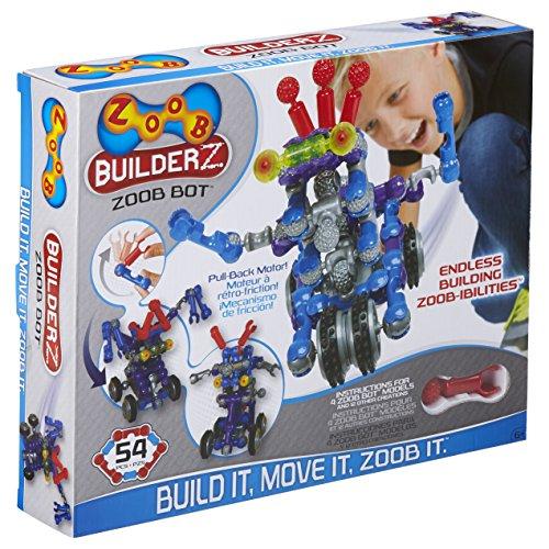 Great Gizmos - Zoob Bot, Set per creare dozzine di veicoli diversi, 50 pz.
