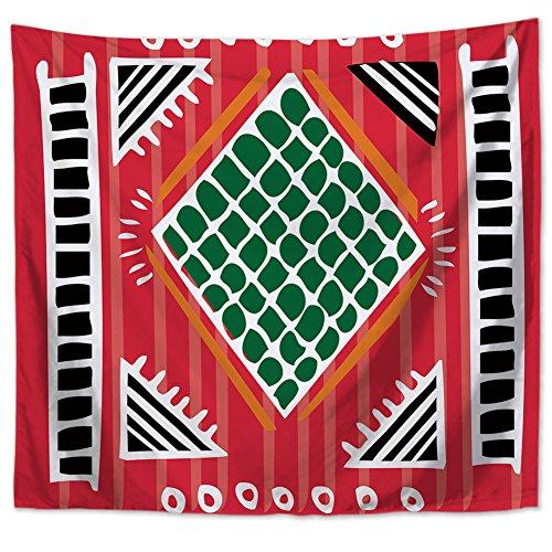 Preisvergleich Produktbild Indigene Geometrische Wandteppiche Indianer Stammes Totem Wandkunst Tapisserie Ethnische Folk Kultur Wandbehang Boho Beach Decke Tagesdecke Tischdecke Vorhang Wohnheim Wand Dekor Pattern3 59 * 51in