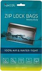 Noaks Bag | Schutzhülle, ZIP-Beutel, Dry-Bag | Größe S – 5 Stück | 100 % wasserdicht, geruchsdicht & sicher | Für Urlaub, Sport & Reisen | Das Original