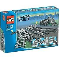 LEGO CITY TRAINS SCAMBI PER LA FERROVIA 7895