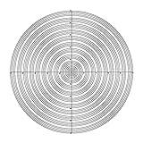 Div 0.1 Kreise Mikroskop Okular-Mikrometer-Kalibrierung Objektträger Zubehör Mikroskop Okular Okularstrichplatten