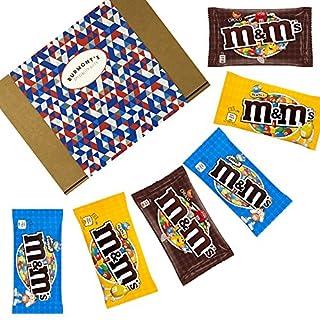 M&M's American Chocolate Selection Gift Box - Chocolate, Crispy & Peanut - Hamper Exclusive To Burmont's
