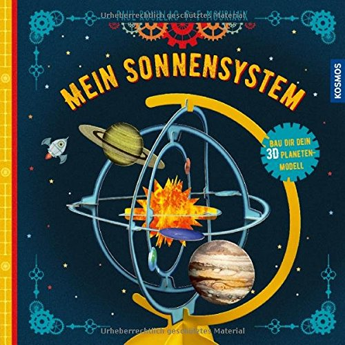 Mein Sonnensystem: Bau dir dein 3D Planeten-Modell