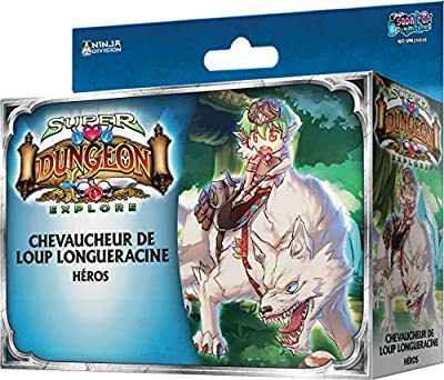 Asmodee - UBISDE21 - Super Dungeon Explore - Chevaucheur De Loup Longueracine