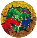 Folat 6 Pappteller Dinosaurier Dino Teller Kindergeburtstag Kinder