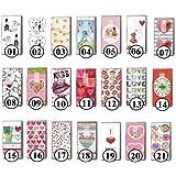 Paper + Design Lot de 2 paquets de 10 mouchoirs en papier avec motif au choix 07 - Liebeslied
