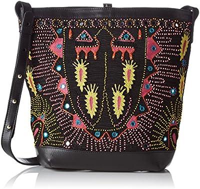 Antik Batik Saporta - Bolso de tela para mujer multicolor Multicolor (Multico) 16x28x30 cm (W x H x L)