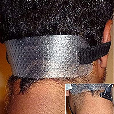 Lalang Neck Hair Guide, Template for Shaving Keeping a Clean and Curved Neck Hairline by 88-store