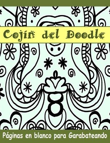 Cojin-del-Doodle-Paginas-en-blanco-para-Garabateando