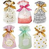 30 pcs Sacs Cadeaux pour Bonbon Biscuit Chocolat,poches de bijoux à cordonnet, Sacs à bonbons de noël, pour la Fete de Mariag