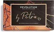 Makeup Revolution X Petra Eyeshadow Palette, Multicolor, 12 g