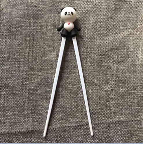 Csok bastoncini 1 coppia multi colore carino orso gatto gatto gatto minions apprendimento formazione chopstick bambini cinese chopstick learner regali panda