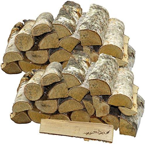 *30 KG mumba-Kaminholz * BIRKE * Feuerholz Restfeuchte ca. 20% getrocknet*