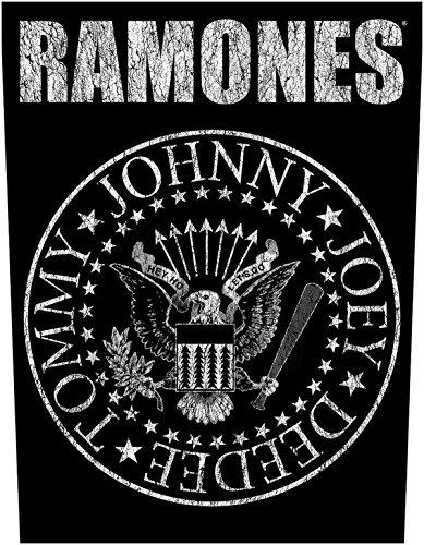 The Ramones Classic Seal Logo Rückenaufnäher The Ramones Backpatch