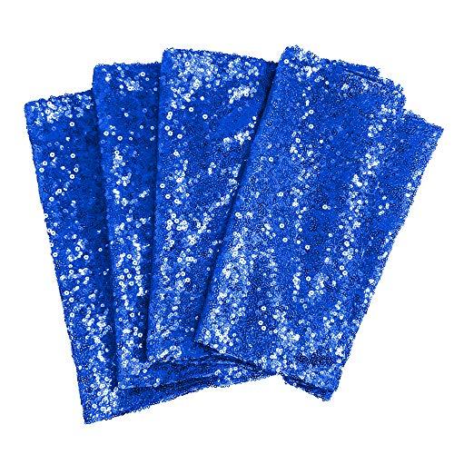 TtS 30cmx275cm (Royal Blue) Shimmer Glitzer Pailletten Tischläufer Pailletten Tischdecke Party Hochzeit Bankett Dekoration