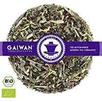 "No. 1127: Organic herbal tea loose leaf ""Morning Energy"" - 250 g (8.82 oz) - GAIWAN® GERMANY - honey bush, peppermint, lemon balm, cassia, licorice, lemongrass, marigold flowers"