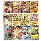 zhybac Pokemon Card, Pokemon Flash Card, Pokemon Card, Carte Enfants,60 Cartes Full GX, 60 Cartes Full Mega (60 GX)
