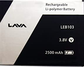 LAVA LEB103 Replacement Battery + Freebie worth rs.125